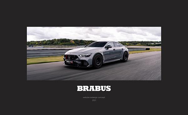 Brabus — website redesign
