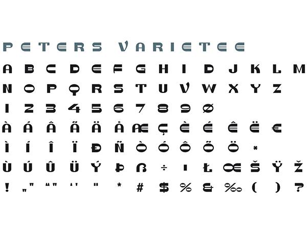 typografie lettering schrift