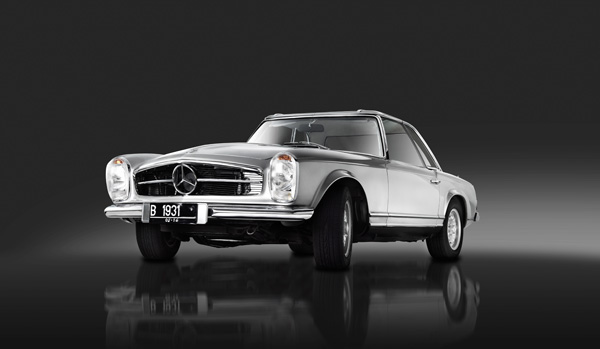 Mercedes Benz Sl280 Pagoda 1970 On Behance