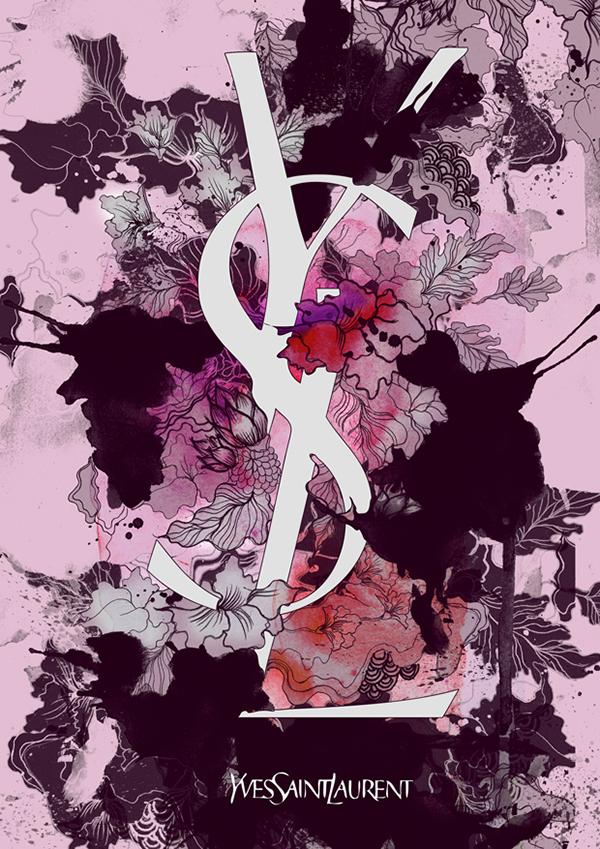 brands florals chanel prada designer logo