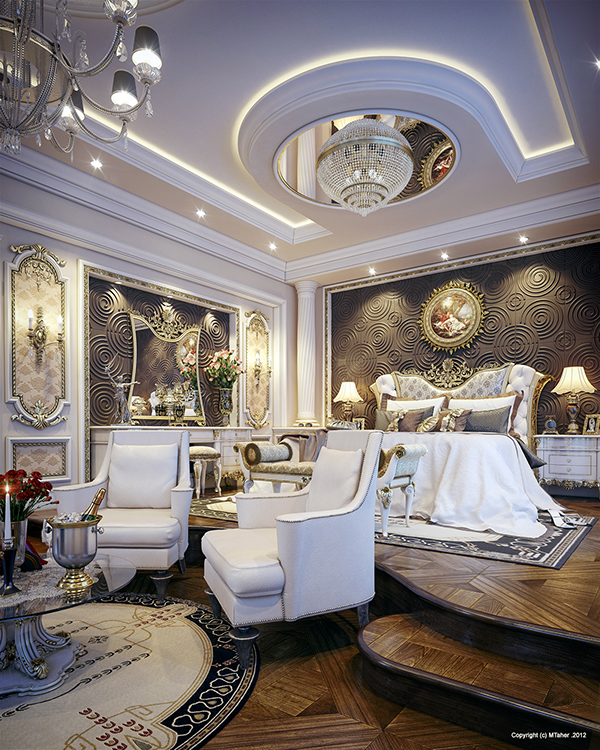 Luxury Master Bedroom Dubai On Behance