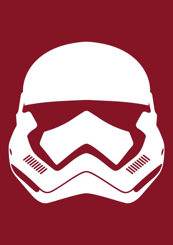 star wars stormtrooper helmet force awakens on behance rh behance net stormtrooper vector png stormtrooper vector file