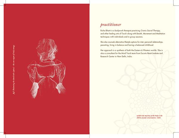 brochure  catalog print  graphic design  medical  treatment  healness  leaflet introductory catalog