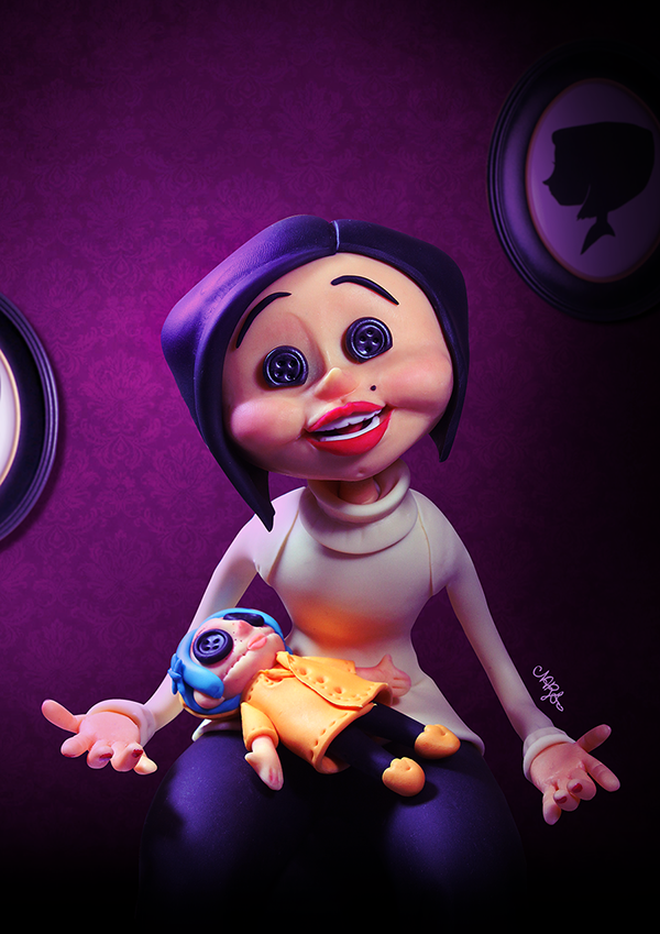 The Other Mother Coraline On Behance
