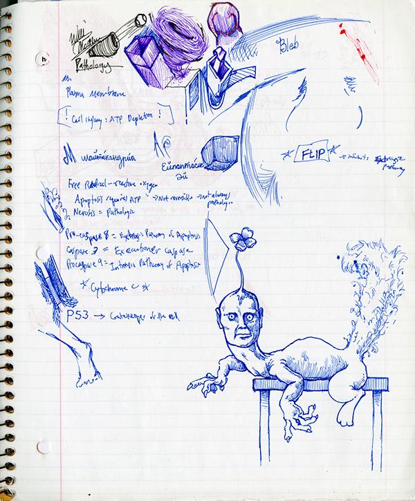 sketching sketch doodle ink pen