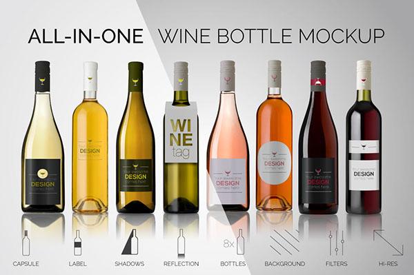 精細的29 張酒瓶包裝設計欣賞