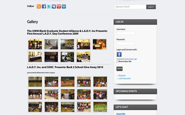 L.A.D.Y. Inc. Website