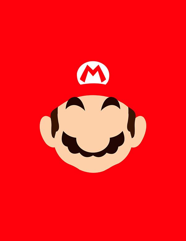 Super Mario Bros Vector on Behance