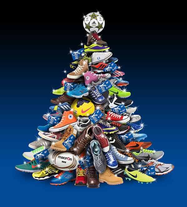 Auguri Di Natale Per Sportivi.Auguri Di Natale Abbigliamento Sportivo On Behance