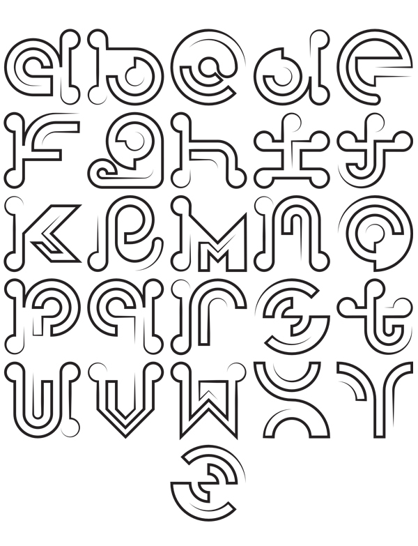 free single line fonts