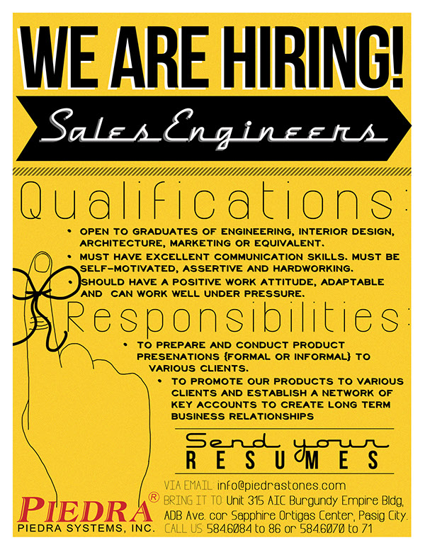 Job Vacancy Announcement on Behance