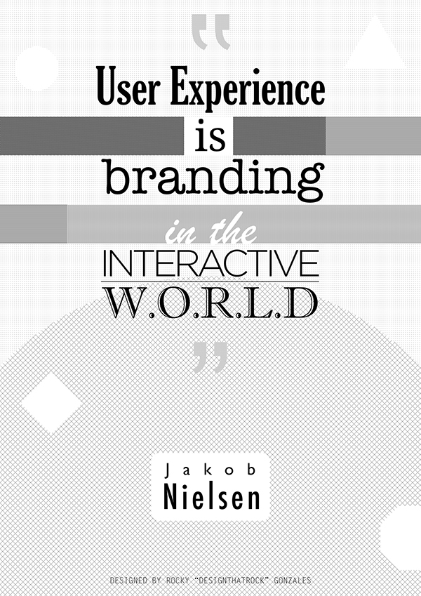 Experiences Quotes User Experience is Branding