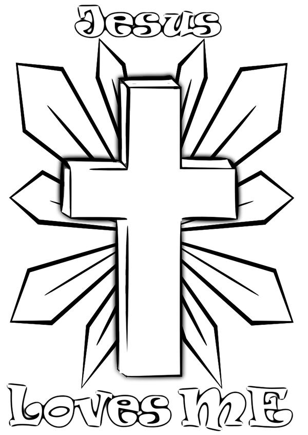 christian stuff coloring pages - photo#28