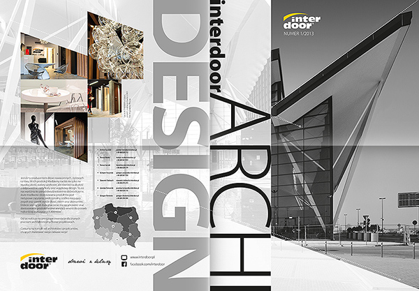 ArchiDesign / Magazine for Interdoor on Behance