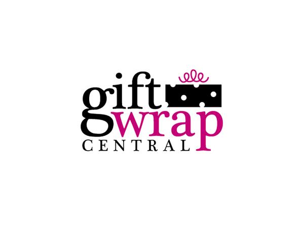 gift wrap central logo on behance