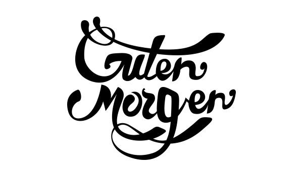 Good Morning Everyone Deutsch : Good morning typography on behance