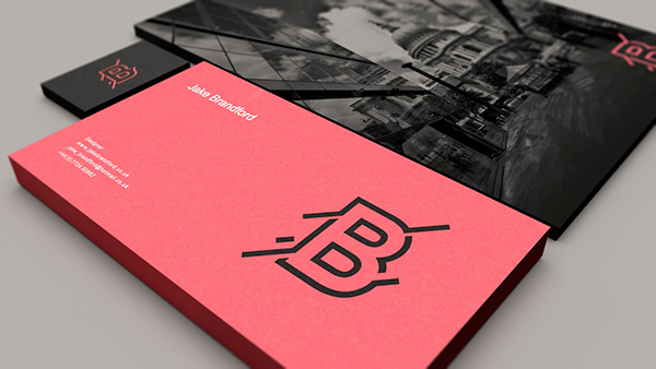 Personal Identity stationary business card design Ident