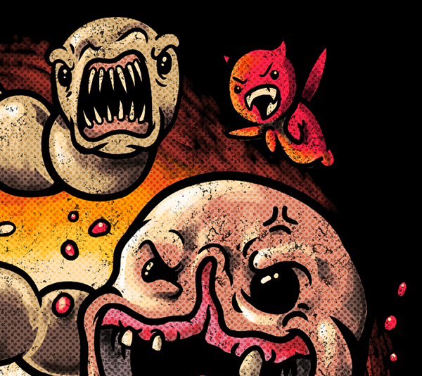 The Binding Of Isaac: Rebirth Fan Art On Behance