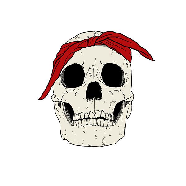 Gangsta Skull on Behance