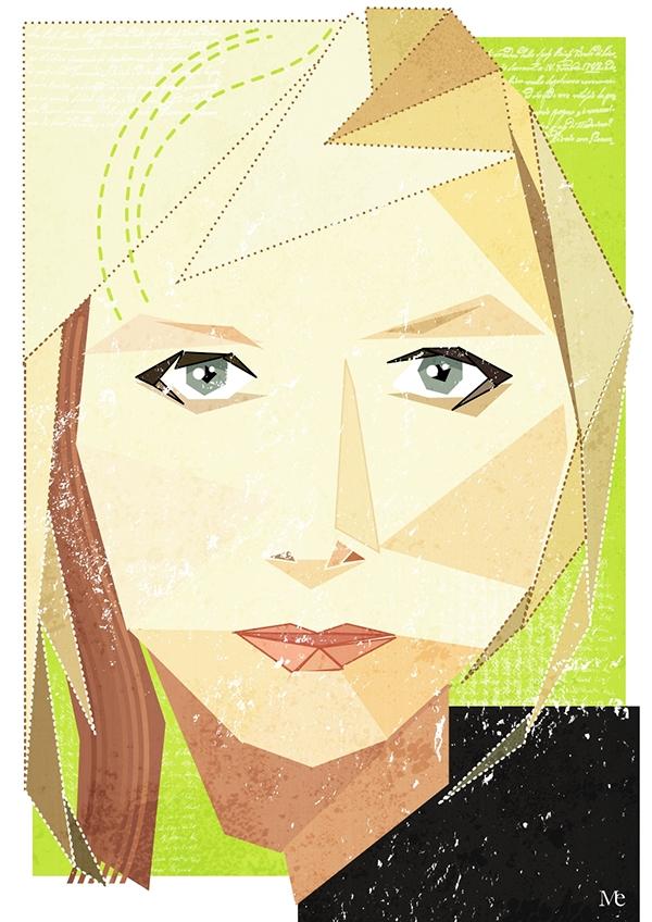 vector  portrait eschoyez open source inkscape Gimp people artists