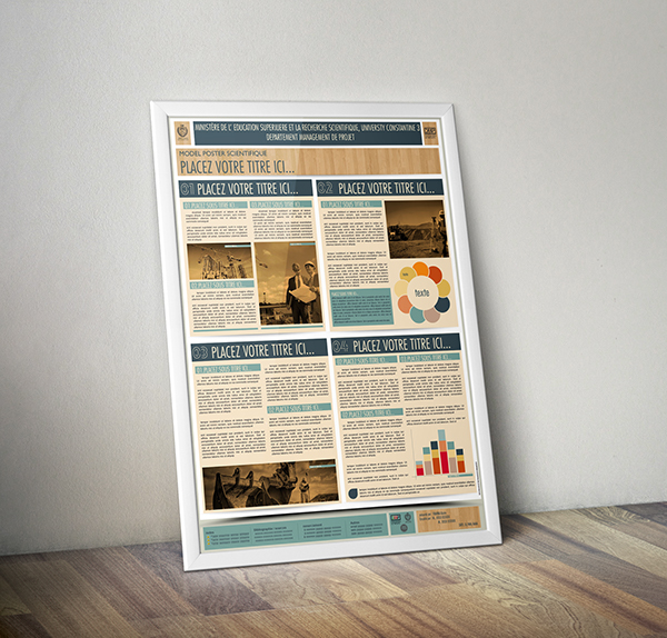 A0 Poster Template Powerpoint