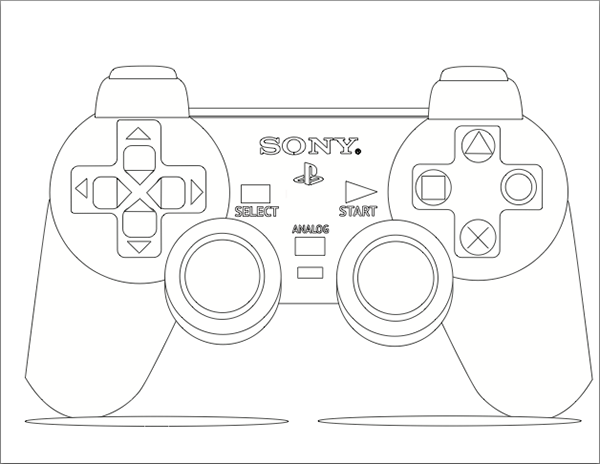 Actual Line Drawing Controller Line Drawing