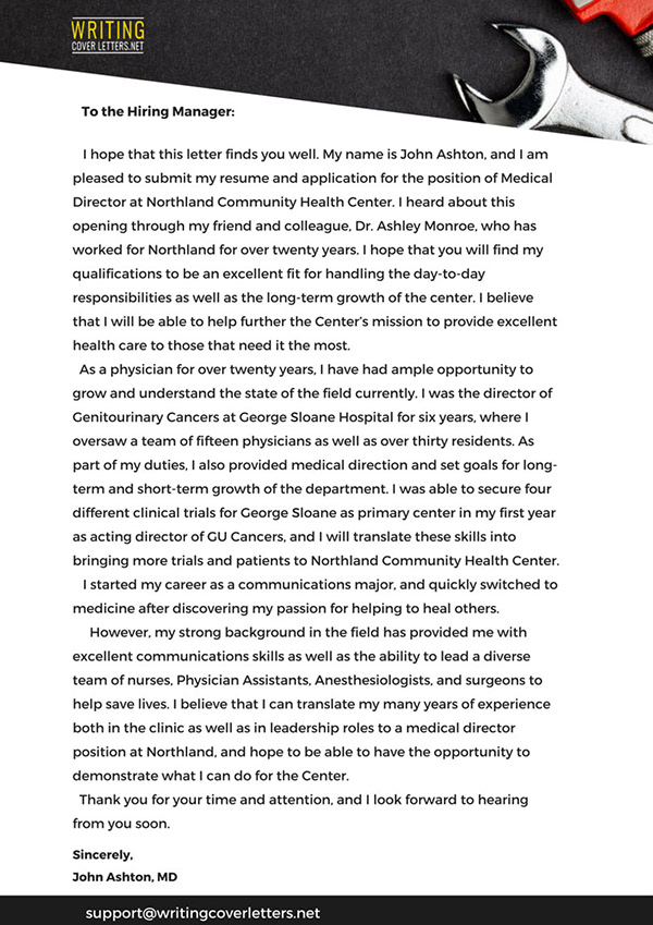 Mechanical Engineer Cover Letter Sample on Pantone Canvas ...