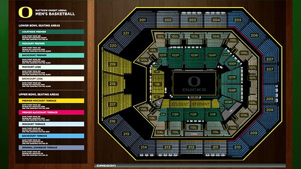 University Of Oregon Matthew Knight Arena On Behance