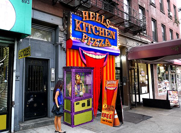 Hell S Kitchen Pizza Rebrand On Sva Portfolios