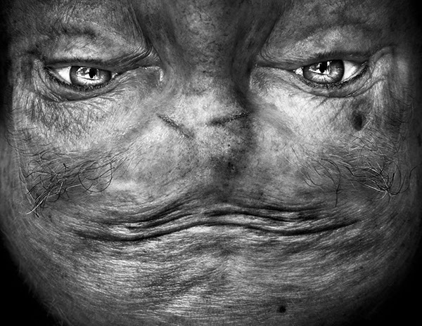 Portraiture fine art alienation Exhibition  faces eyes art digital alienated