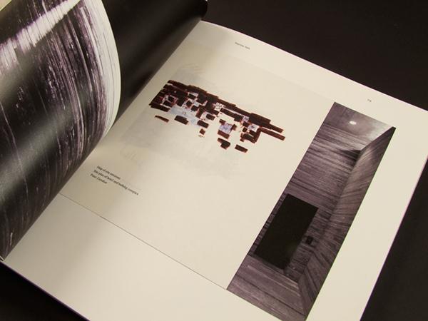 peter zumthor 39 s book on editorial design served. Black Bedroom Furniture Sets. Home Design Ideas
