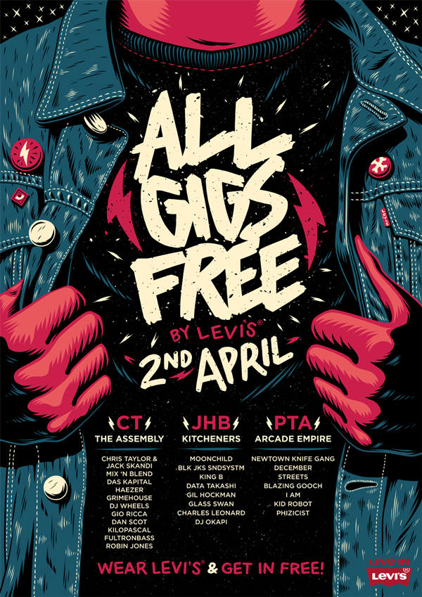 All Gigs Free: By Levi