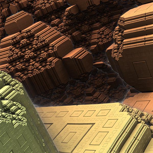 Mandelbul 3D experimentation on SCAD Portfolios