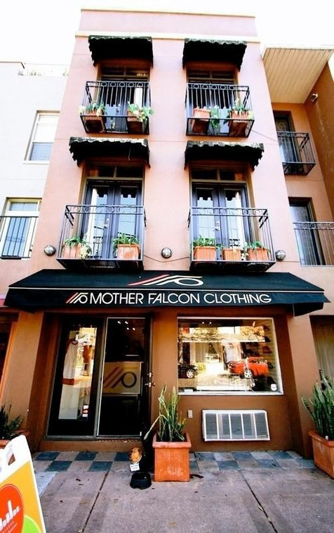 Mother Falcon Clothing Orlando FL logo
