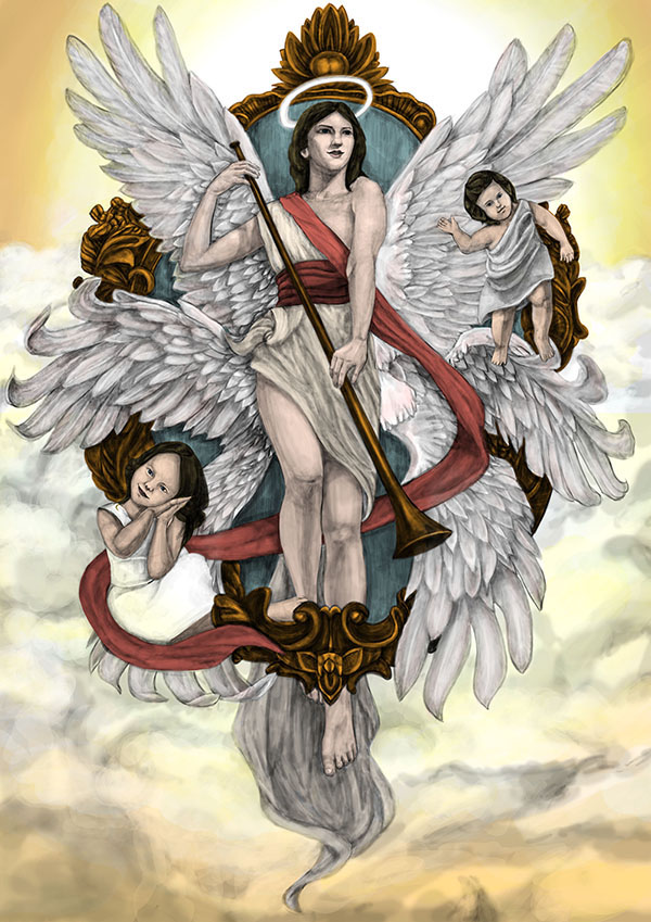 大 天使 四