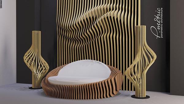 Parametric Sofa On Behance