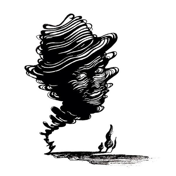 #franksinatra #illustration #tornado #music