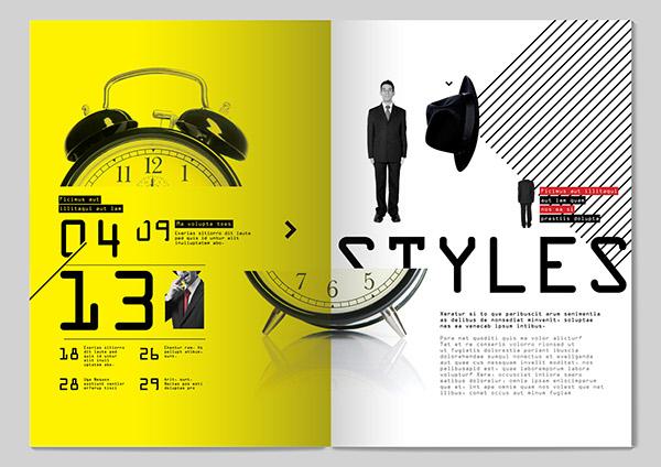 13 Styles Magazine Design On Behance