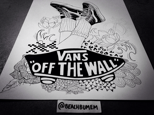 921ee0f092 Vans Off The Wall. on Behance