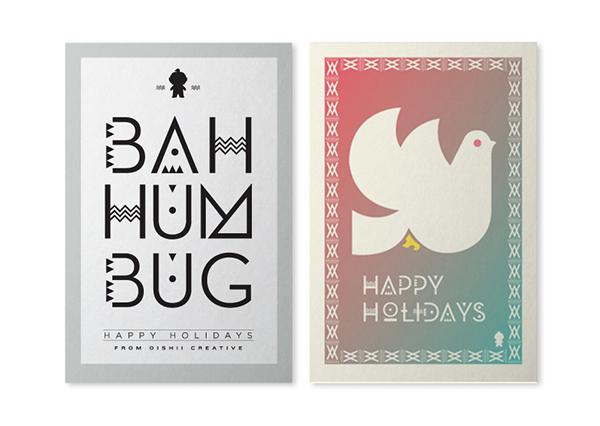 Oishii creative holiday cards on behance m4hsunfo