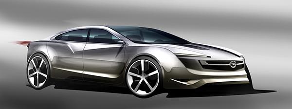 Opel Ampera 2020 on Behance