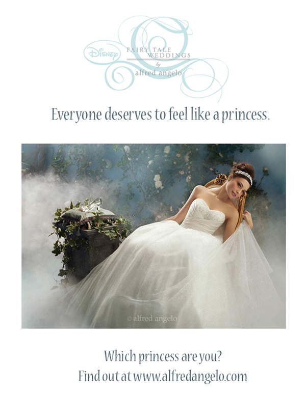 Alfred Angelo Disney Wedding Dress Ads On Behance