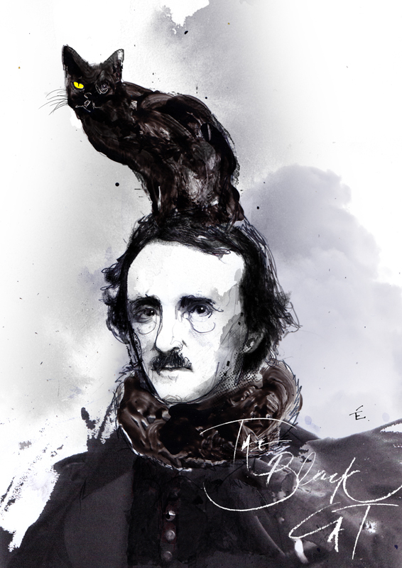 the black cat edgar allan poe Edgar allan poe was born on january 19, 1809, in boston, massachusetts his father, named (short story the black cat - as edgar a poe) 2007 eap (short.