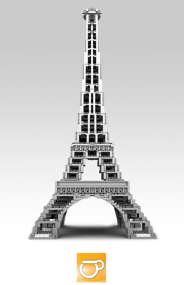 Lego Eiffel Tower Instructions More Information Kopihijau