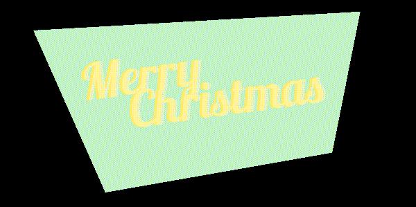 Merry Christmas crabtoon Tree  vintage super market