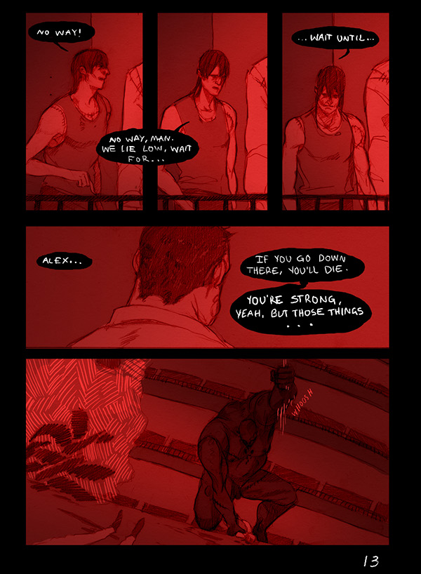 Escape from Furnace Comic Translation part 2/2 on Behance
