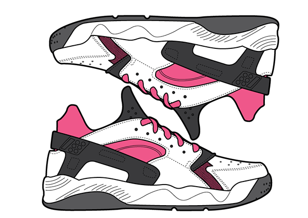 premium selection 149de 5736c 29 Days of Nike Air Huaraches. Creative Direction, Graphic Design,  Illustration