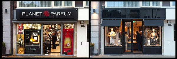 Interior design for men's clothing store on Behance
