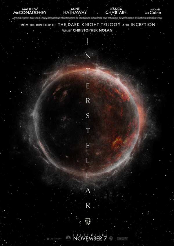 Interstellar Poster interstellar poster on...