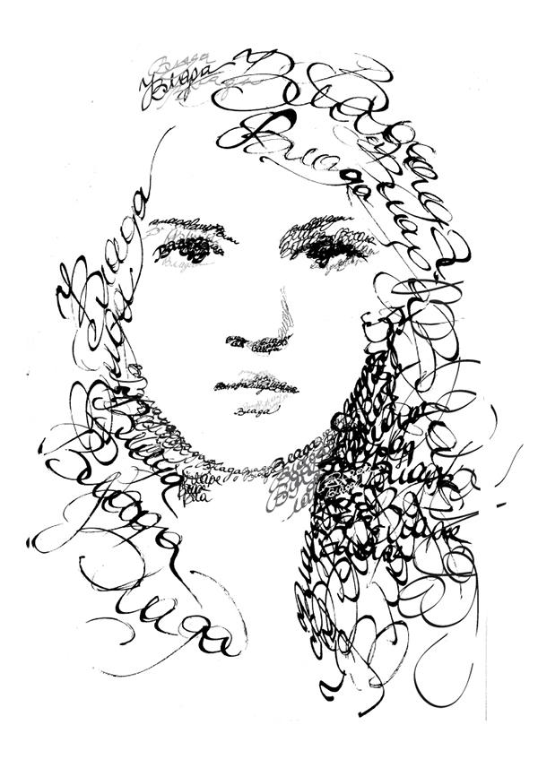 Calligraphy Portraits On Behance